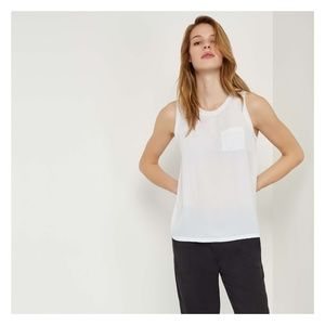 Joe Fresh Pocket Shell Tank